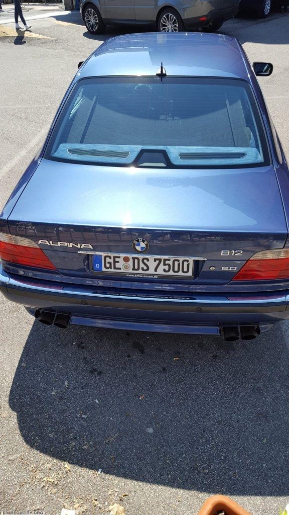 Dennis – Alpina B12 6.0 SWB – #43