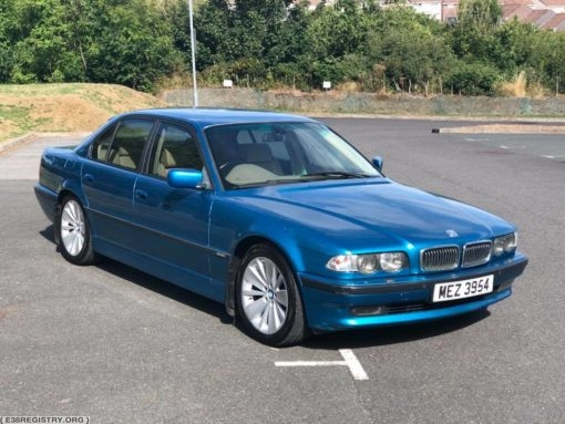 (For Sale) – 740i Individual – DB08186