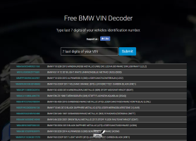 bmw vin decoders – the bmw e38 7 series registry